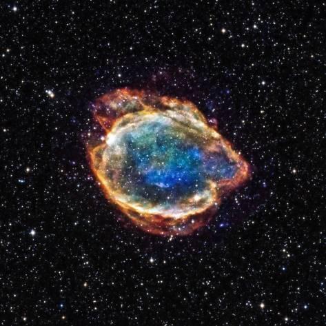 Pozostatok supernovy.
