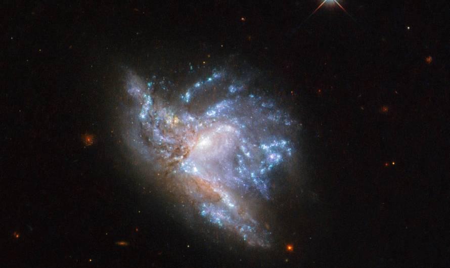 Zrážka galaxií