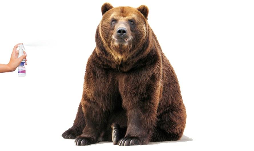 Funguje sprej na medvede?