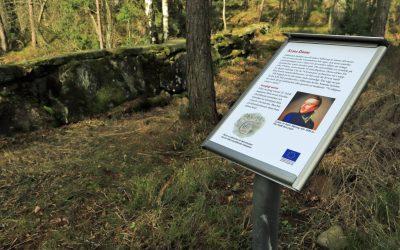 21 informationstavlor är uppsatta i Kvarnadalen i Sällstorp! Perfekt utflyktsmål i coronatider!