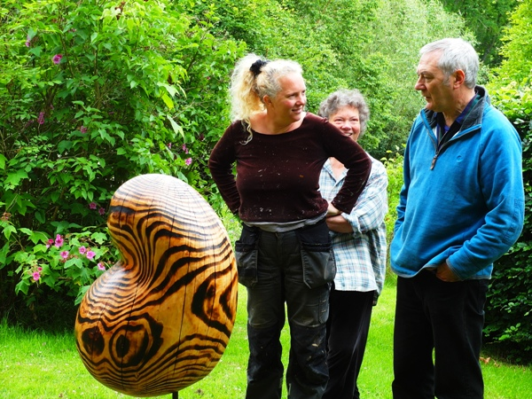 A Sculpture Garden in the Wye Valley
