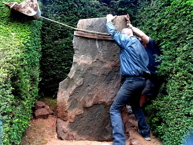The Installation of The Stone.