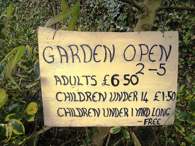 Do we expect too much from open gardens?