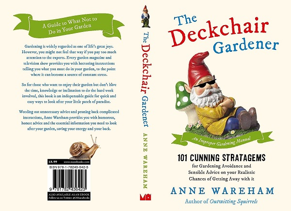 Deckchair Gardener by Anne Wareham