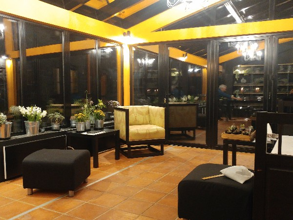 Conservatory at Veddw