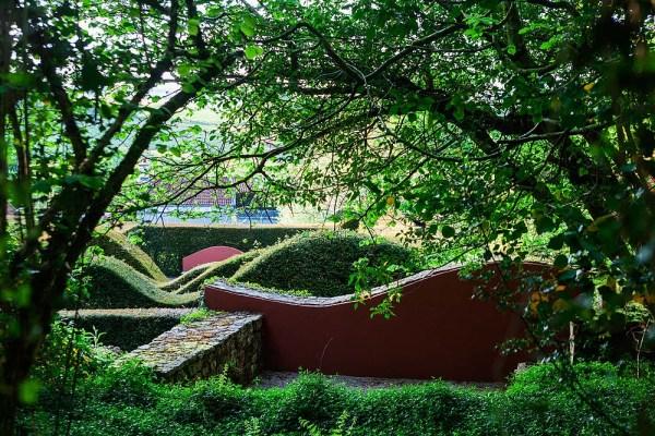 The ruin at Veddw, copyright Anne Wareham