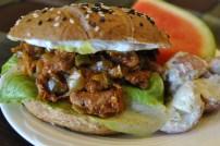 Vegan BBQ Sandwich: https://vedgedout.com/2012/10/17/vegan-bbq-sandwich/