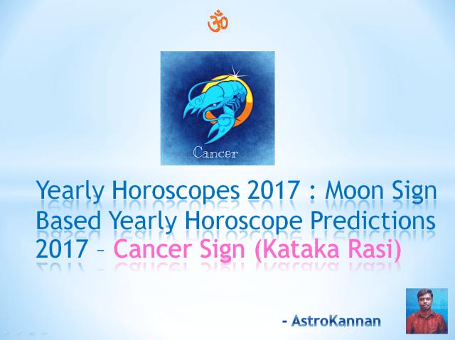 Yearly Horoscopes 2017 | 2017 CANCER HOROSCOPE / 2017 KARKA HOROSCOP