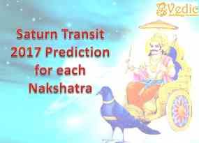 Saturn Transit 2017 prediction for all 27 Nakshatra