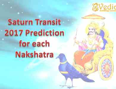 Saturn Transit 2017 prediction for all 27 Nakshatra