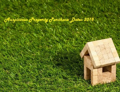 Auspicious Property Purchase Dates 2018 – Panchang