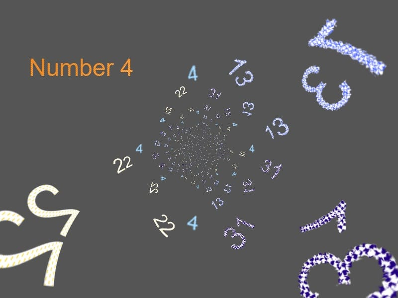 The Numerology Number 4 Life Path Number 3 Birth Number 4 13
