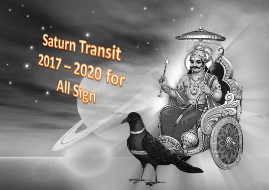 Saturn Transit to Sagittarius & 2017 To 2020 Prediction