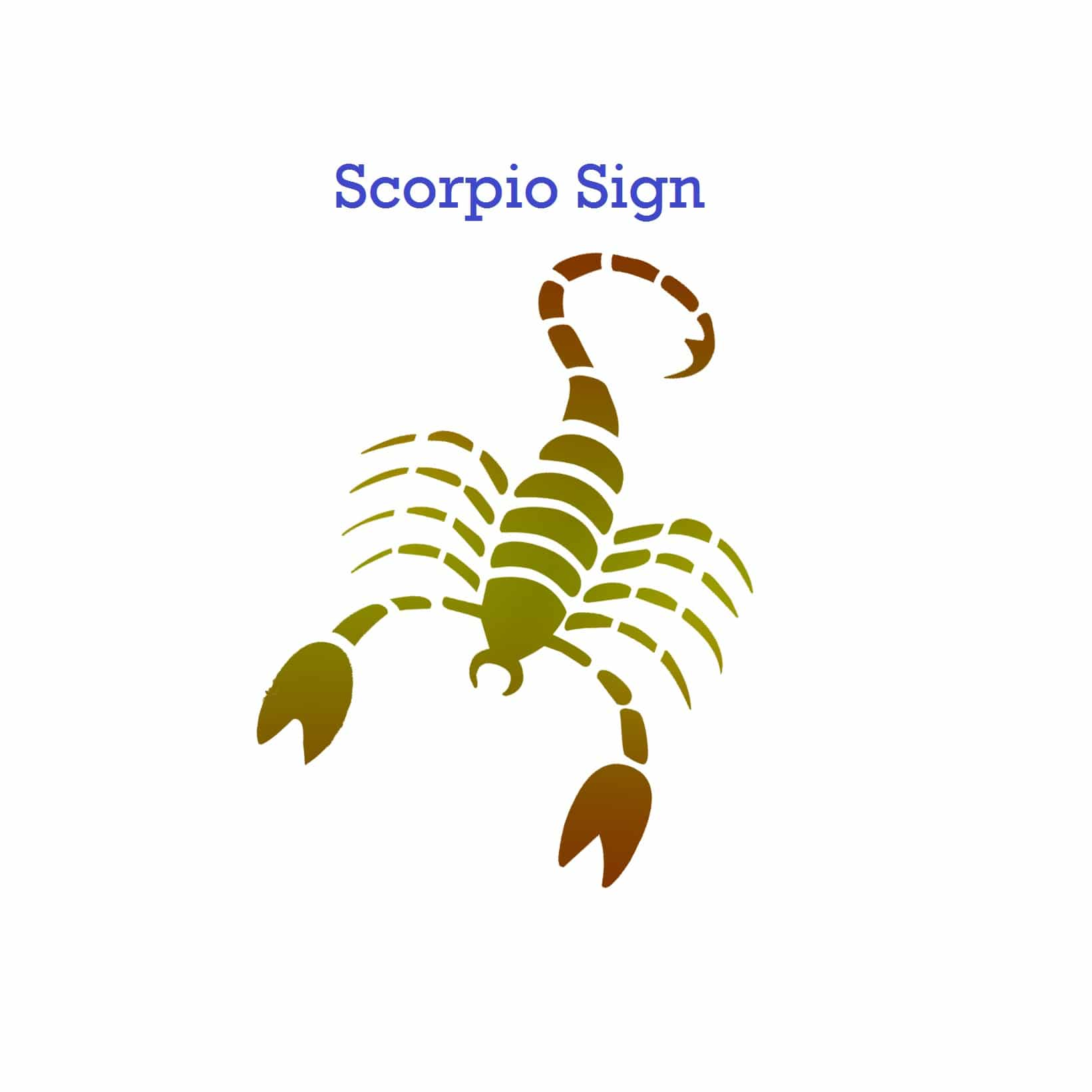 Scorpio Zodiac Sign General Characteristic and Significance - Vedic