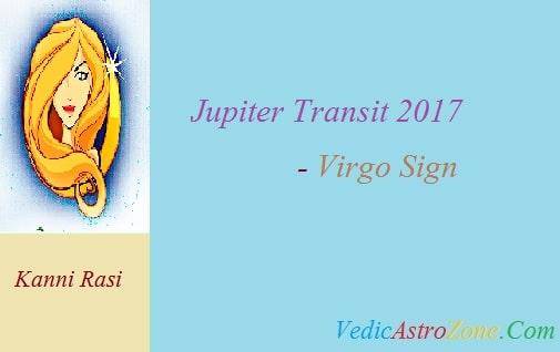Jupiter Transit 2017 to 2018 for Virgo Sign - Guru Peyarchi 2017