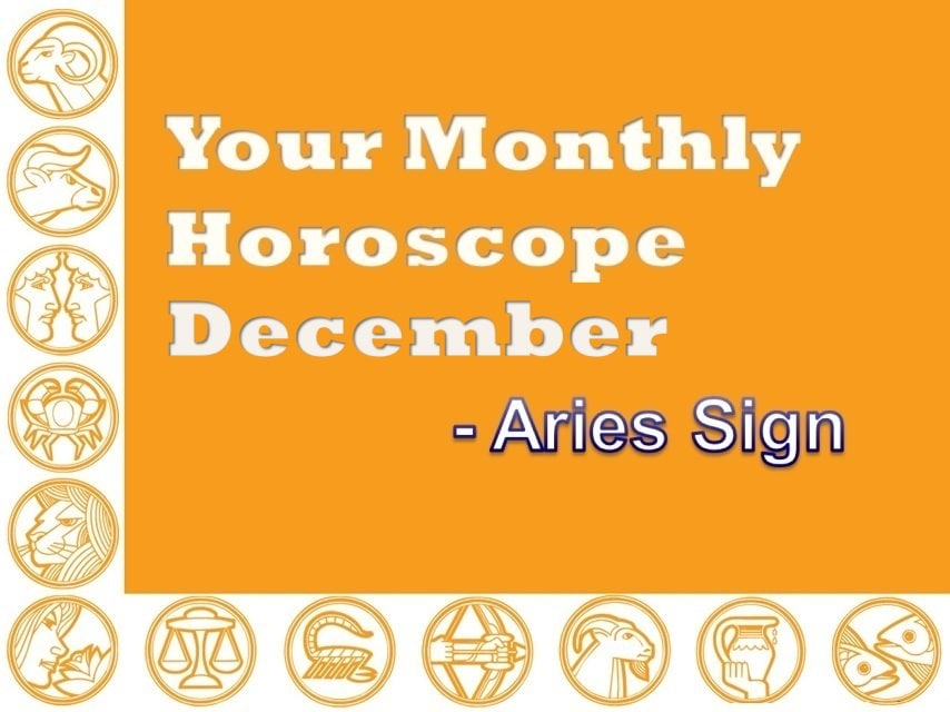 Your Monthly Horoscope December 2019 Aries Sign - Vedic Astro Zone