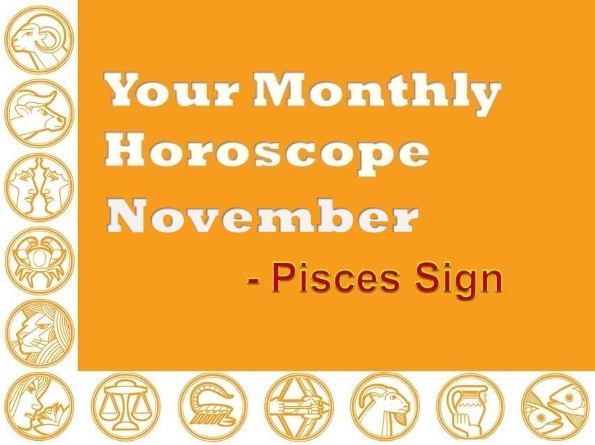 pisces horoscope monthly november 2019