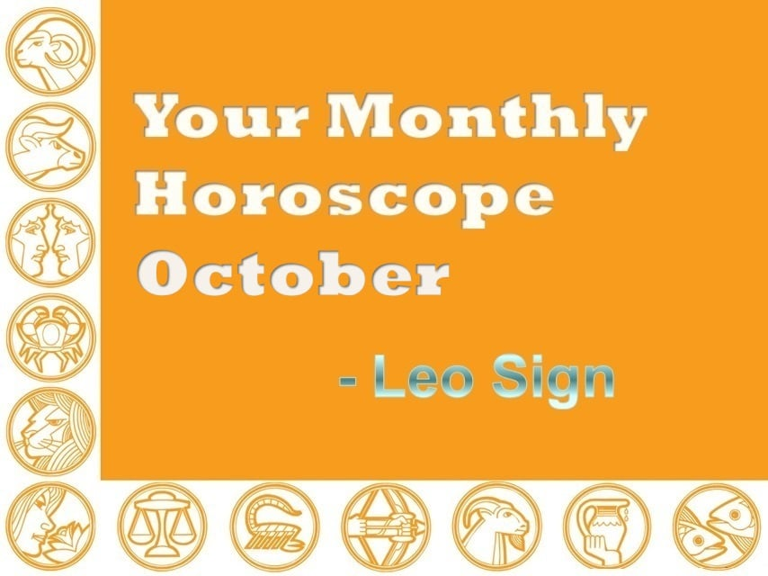 leo horoscope for the month of october 2019