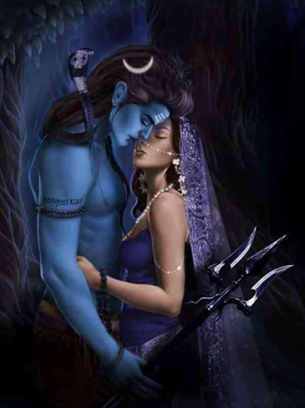 Shiva Sati Love wallpaper