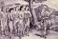 Pandavas Meets Veda Vyasa