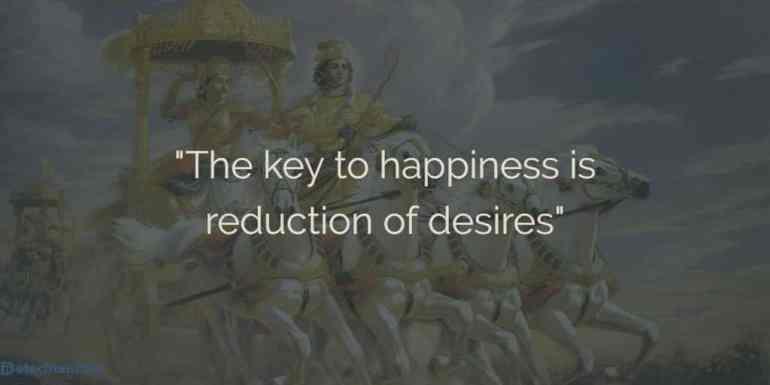 Bhagavad Gita Quotes on Happiness