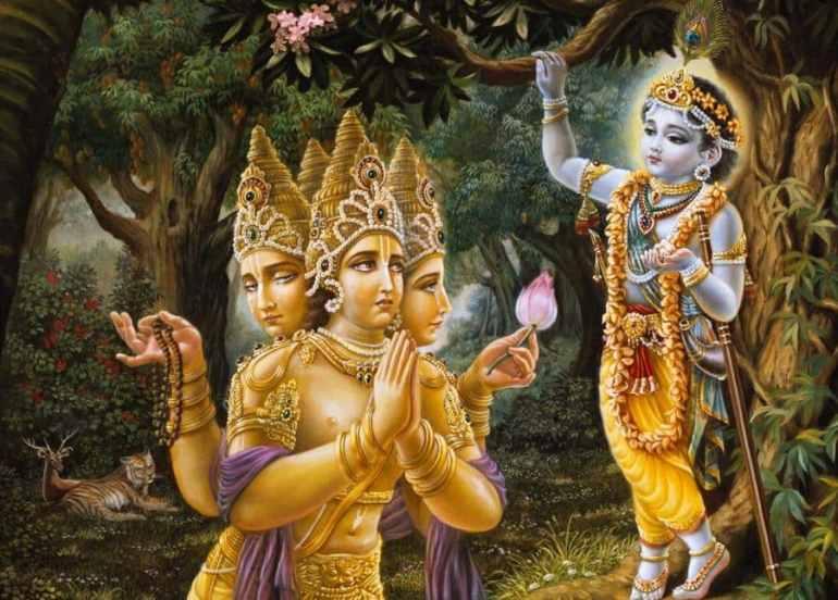 Children of Lord Brahma - The Kumaras and Prajapatis