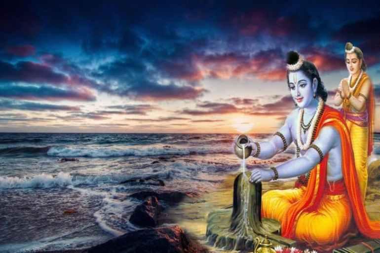 ram worshipping shiva