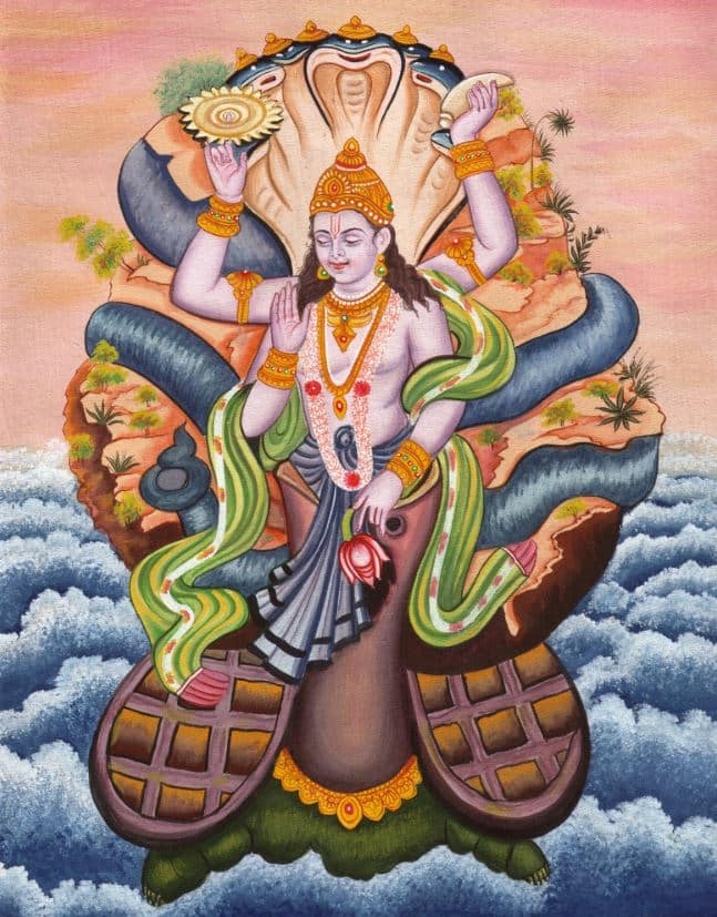 Kurma_24 Avatars of Vishnu