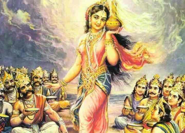 Lord Vishnu One Of The Supreme Hindu Deities Of Trimurti