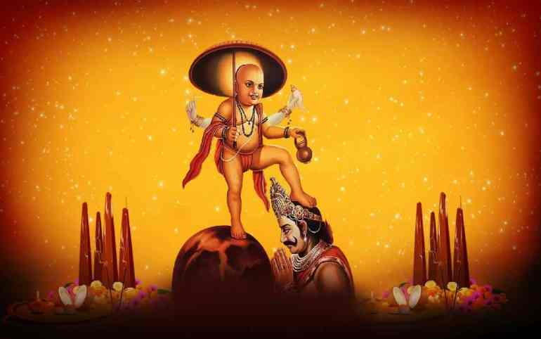 Vamana and Mahabali