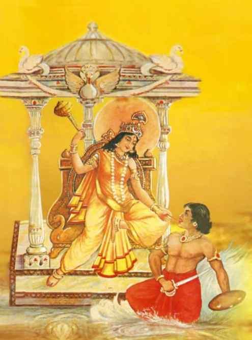 Bagalamukhi Devi