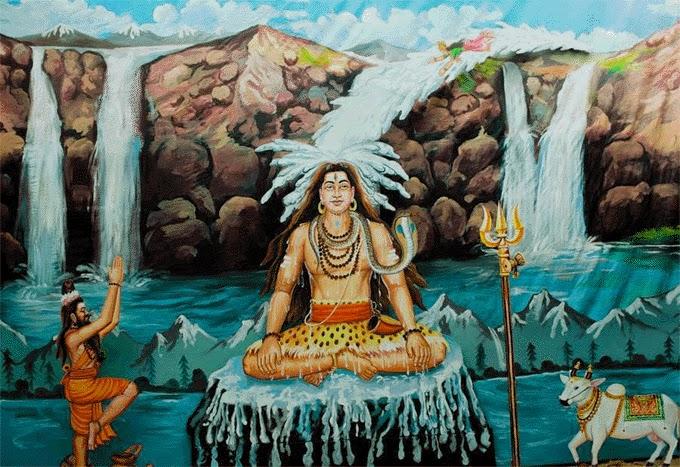 Why Ganga flows through Lord Shiva's Hair