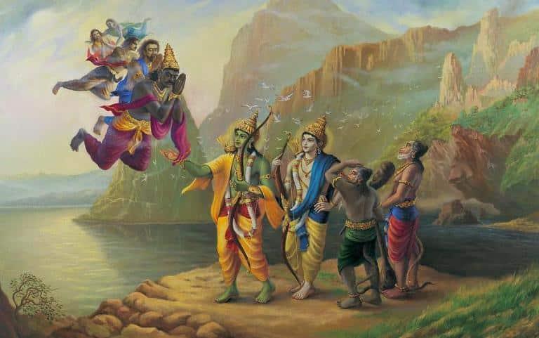 Vibhishana Meet Lord Rama