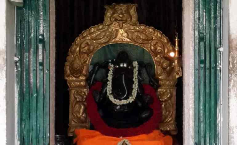 Lord Ganesha Shrine