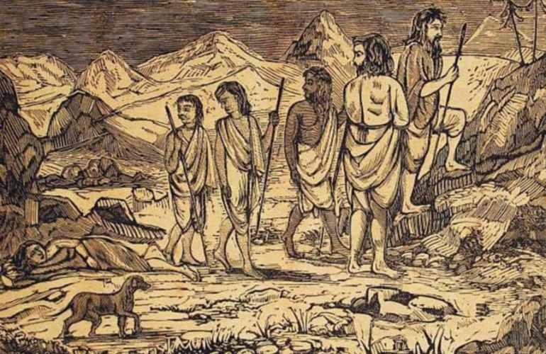 Draupadi's death