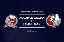Aquarius Woman and Taurus Man