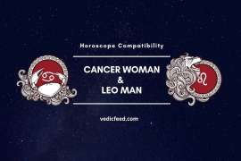 Cancer Woman and Leo Man