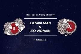 Gemini Man and Leo Woman