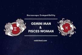 Gemini Man and Pisces Woman