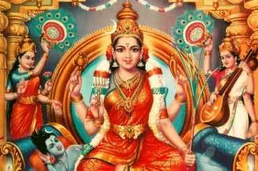 Goddess Bhuvaneshwari