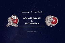 Aquarius Man and Leo Woman Compatibility