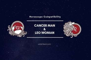 Cancer Man and Leo Woman Compatibility
