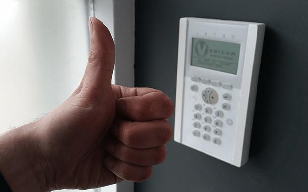 Onderhoud aan alarmsysteem