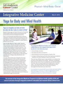 Integrative Medicine Center, MD Anderson Cancer Center