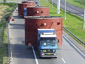 Сложности в перевозке негабарита автотранспортом
