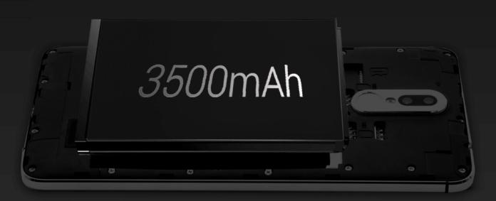 3500 mAh Li-on battery