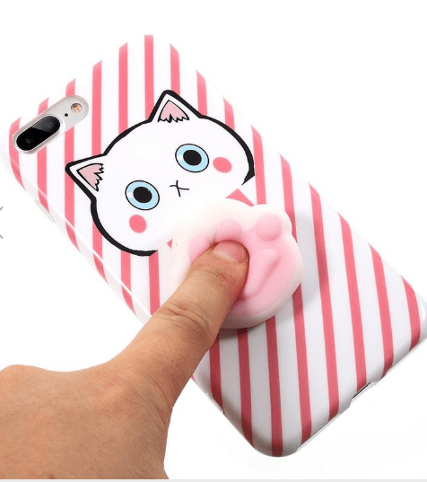 Cartoon 3D Squishy Squeeze Slow Rising Cat Claws
