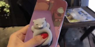 preview of squeeze squishy iphone cases