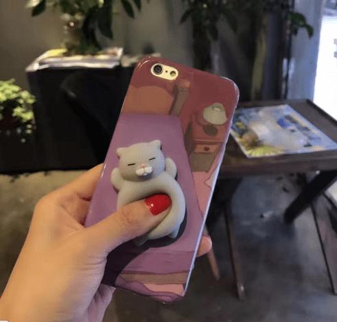 Cartoon 3D Squishy Squeeze Slow Rising Cat Panda