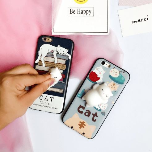 Cartoon 3D Squishy Squeeze Slow Rising Soft Lazy Cat